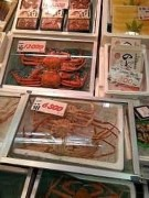 Large crabs for sale at Kanazawa fish market