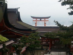 Miyajima and the floating torii